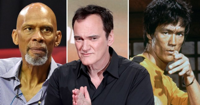 Kareem Abdul-Jabbar, Quentin Tarantino and Bruce Lee