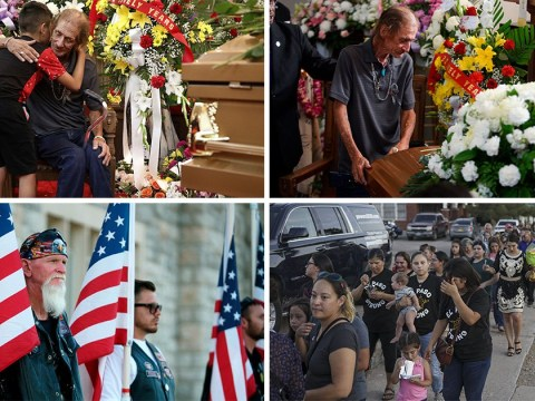 Hundreds go to El Paso shooting victim's funeral after husband feared nobody would go