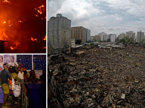 Miracle as nobody dies in slum fire that ripped through 2,500 homes