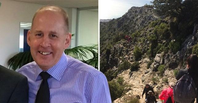 Graham Bateman, 62, died following a tragic accident on La Concha, a popular mountain overlooking Marbella