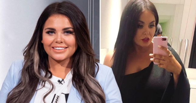 Scarlett Moffatt says confidence has been boosted as she shares stunning dress selfie