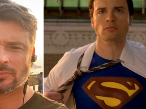 Smallville's Tom Welling hints he's coming back as Superman in Crisis Of Infinite Earths