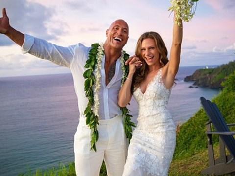Dwayne Johnson marries long-term girlfriend Lauren in surprise Hawaiian wedding after 12 years together