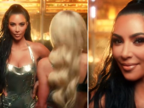 Kim Kardashian stars in old pal Paris Hilton's new music video after crediting her for career