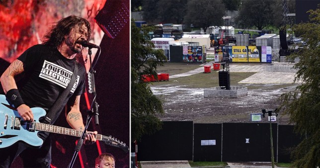 Woman raped at Foo Fighters gig found screaming in distress