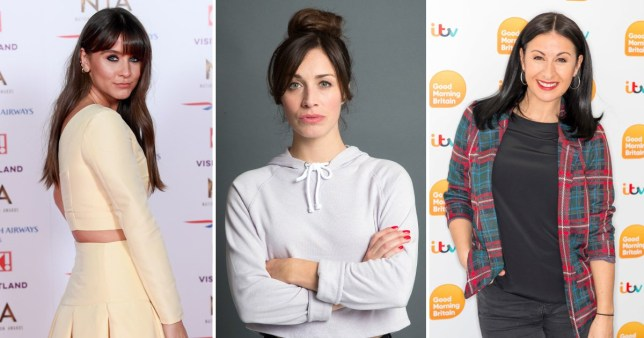 Coronation Street stars Brooke Vincent, Julia Goulding and Hayley Tamaddon