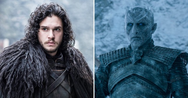 Kit Harington Jon Snow Night King Game of Thrones