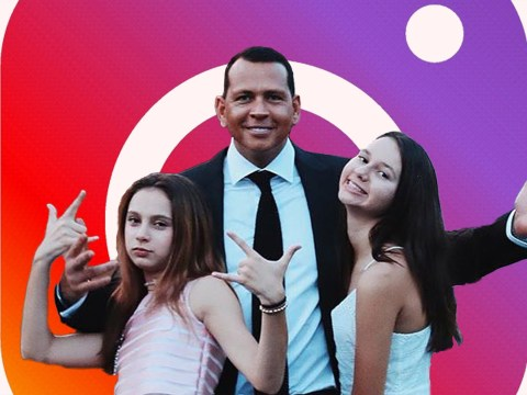 Alex Rodriguez admits having fake Instagram account to snoop on young daughters