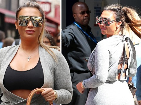 Lauren Goodger all smiles on London day out after branding ex Mark Wright and Michelle Keegan 'weird'