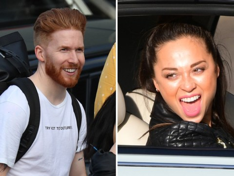 Strictly Come Dancing's Katya Jones and ex Neil all smiles as they reunite for first time after split