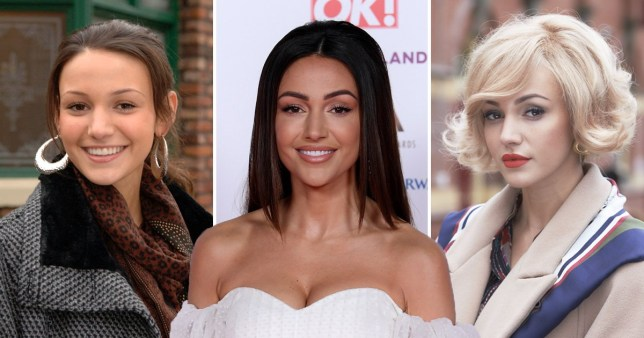 Michelle Keegan 2009 to 2019 from Coronation Street to Our Girl