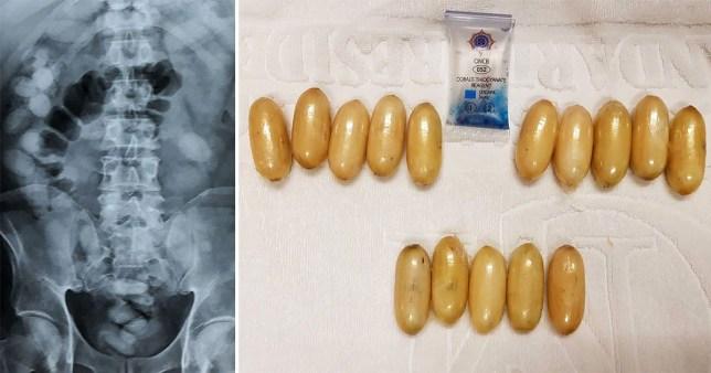 Thailand police find cocaine capsules inside Kenyan traveller