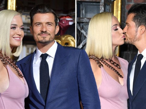 Katy Perry and Orlando Bloom can't keep hands off each other at Carnival Row premiere after actor brags about sex life