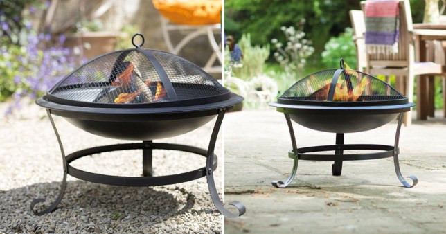 Lidl is selling a fire pit for £24.99