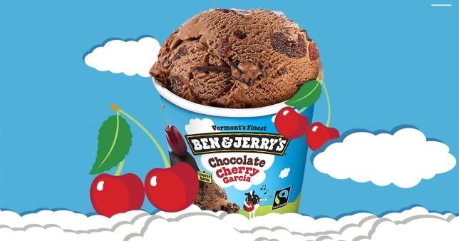 Ben & Jerry's launches new Chocolate Cherry Garcia low calorie ice cream