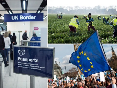 Number of migrants coming to UK reaches lowest level for six years