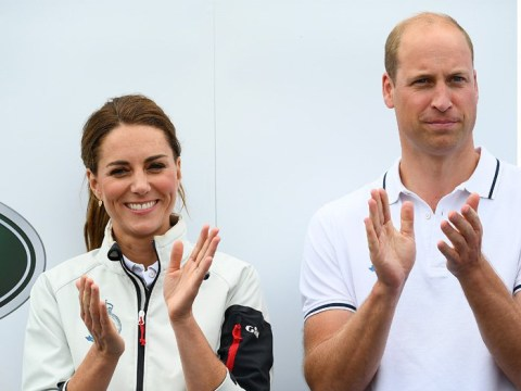 William and Kate troll Meghan and Harry by catching budget Flybe flight