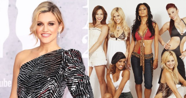 Ashley Roberts and The Pussycat Dolls