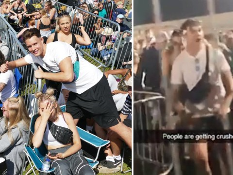 Reading Festival crush after stampede for silent disco