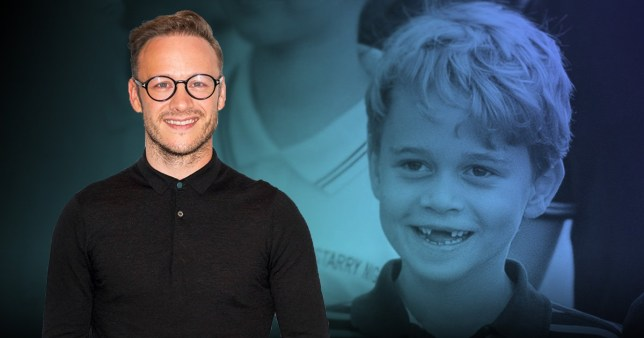 Kevin Clifton and Prince George