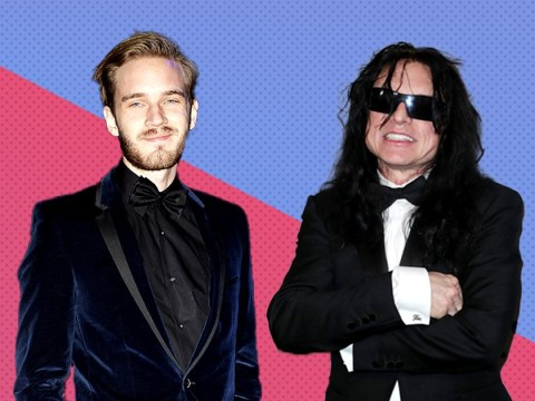 PewDiePie fangirls over Tommy Wiseau's wedding congratulations and it's the collab we never knew we needed