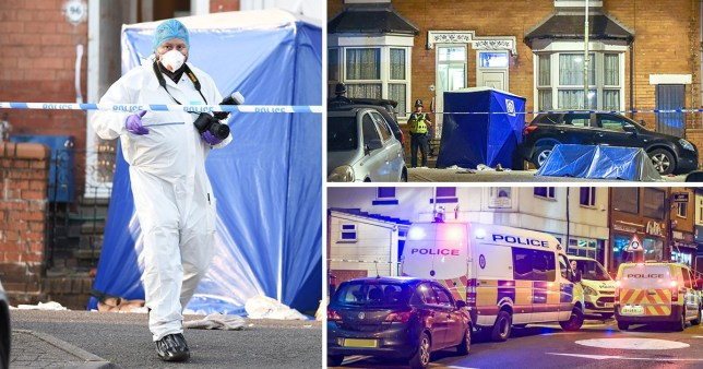 One man is fatally stabbed and three others recieve knife wounds in what local residents and witnesses are sayin