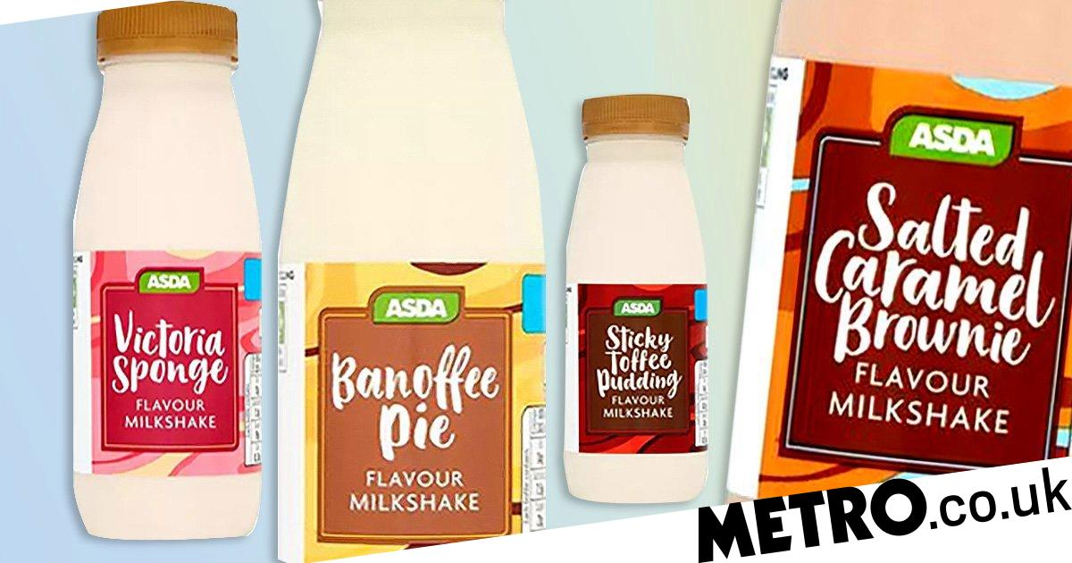 Asda Is Selling New Milkshakes Inspired By Your Favourite