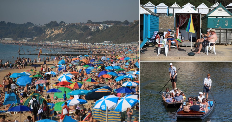 This year was the hottest late August bank holiday on record