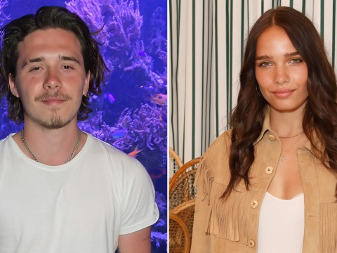 Brooklyn Beckham and Hana Cross 'split after nine months of dating' as he goes on holiday without her
