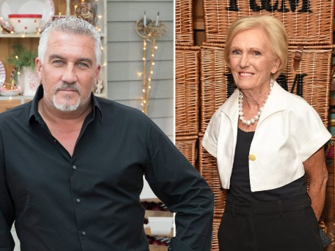 Paul Hollywood extends olive branch to Mary Berry after feud to celebrate Great British Bake Off's 10th anniversary