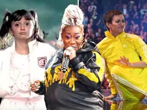 Missy Elliott's epic MTV VMAs performance sees  Alyson Stoner join her 10 years after Work It video