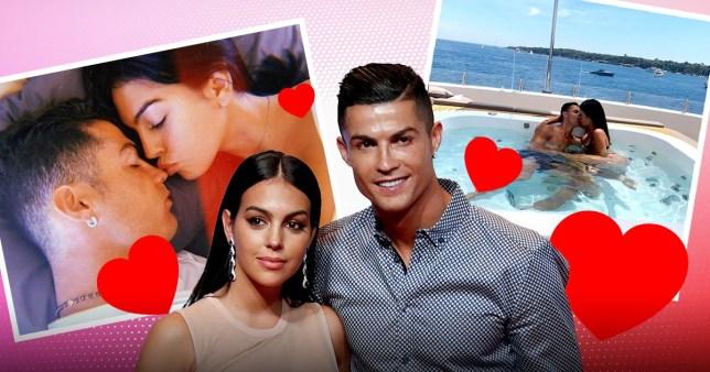 Cristiano Ronaldo and Geogina Rodriguez