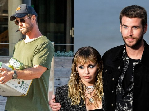 Looks like Liam Hemsworth's split from Miley Cyrus is dragging down brother Chris too