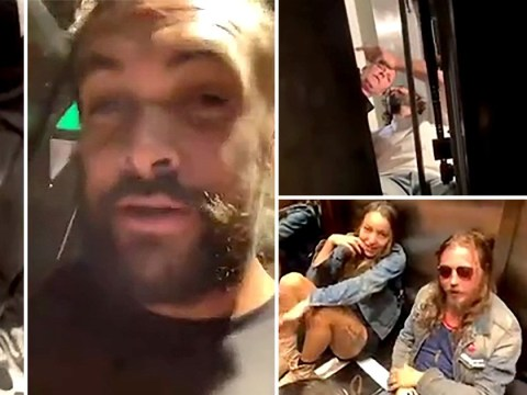 Game Of Thrones' Jason Momoa gets stuck in a lift for over two hours and discusses who to eat first