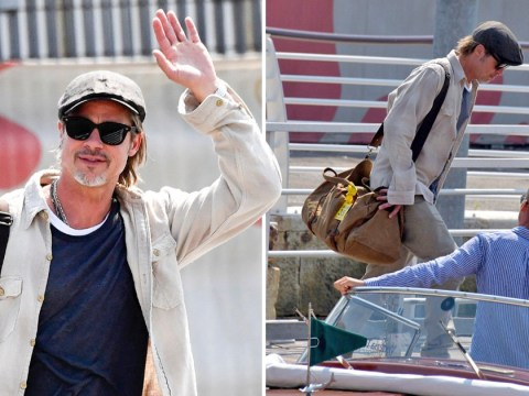 Brad Pitt having time of his life in Italy as Angelina Jolie cries over leaving Maddox at university