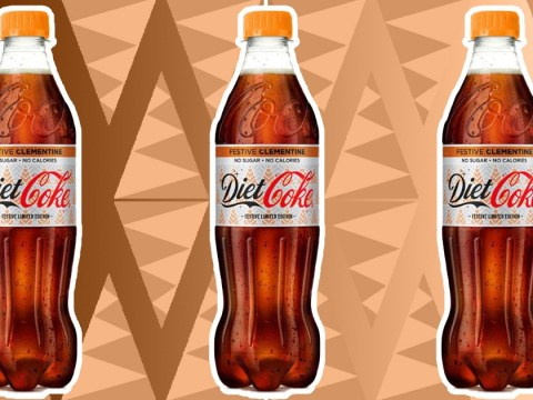 Diet Coke festive clementine orange flavour is coming for winter