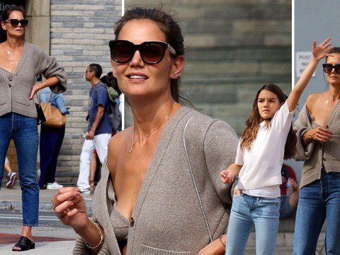 Katie Holmes spotted with mini-me Suri Cruise amid Jamie Foxx split rumours