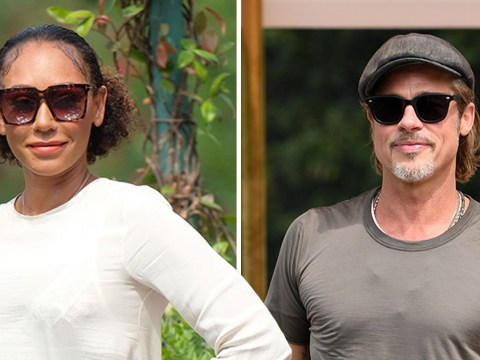 Brad Pitt and Mel B wave to fans as they join A-listers at Venice Film Festival