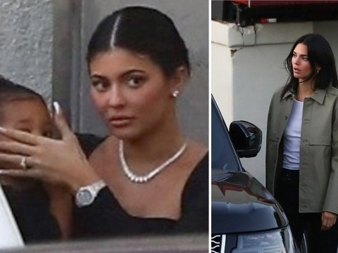 Kylie Jenner flashes massive ring as she shares daughter Stormi after red carpet debut