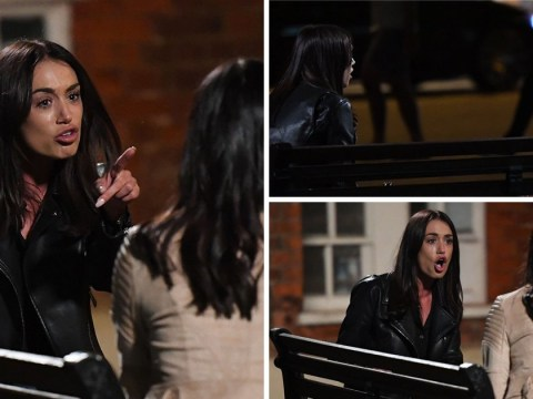 TOWIE's Clelia Theodorou and Shelby Tribble scream at each other in vicious row
