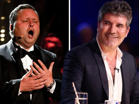 Britain's Got Talent The Champions: Simon Cowell admits Paul Potts has 'shaky start' as winner tears up in comeback