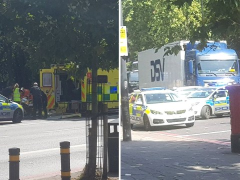 Two arrested after man, 39, stabbed to death in south London
