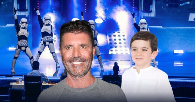 Simon Cowell thinks Eric Cowell might be a member of Boogie Storm