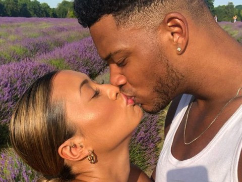Love Island's Kaz Crossley pens message to 'inspirational' boyfriend Theo Campbell after he 'splits eyeball in half'
