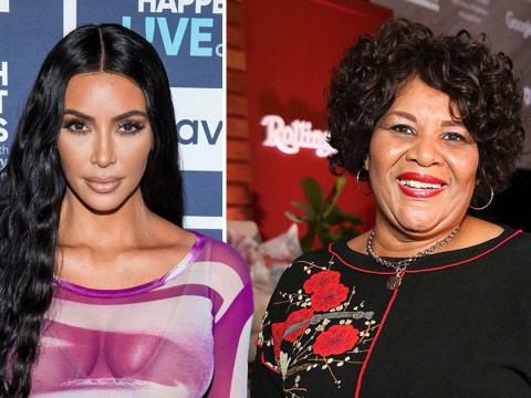 Kim Kardashian's latest SKIMS shapewear model is a 64-year-old grandmother she freed from prison
