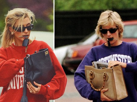 Hailey Bieber channels Princess Diana in nostalgic royal-inspired photoshoot