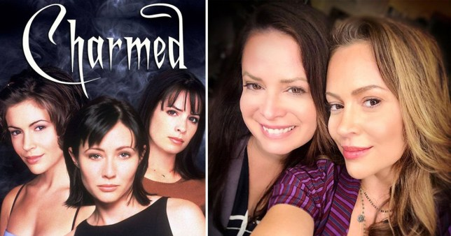OG Charmed cast members reunite in super cute snap | Metro News