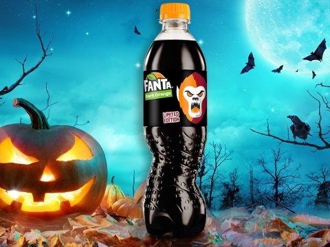 Fanta is launching a jet black version for Halloween