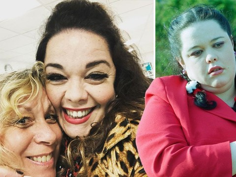 Lisa Riley celebrates first full 'Dingle Day' as she returns to Emmerdale
