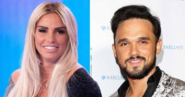Katie Price and Gareth Gates